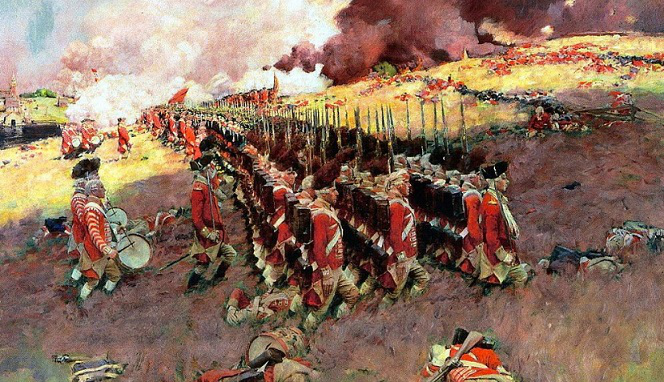 the battle of bunker hill, howard pyle, 1897 | hobby keeper articles