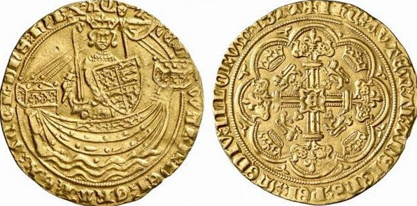 English gold coin-noble of Edward III | Hobby Keeper Articles