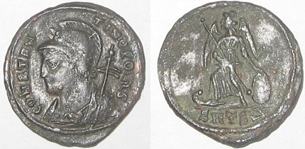 Coin in honor of the Foundation of Constantinople | Hobby Keeper Articles
