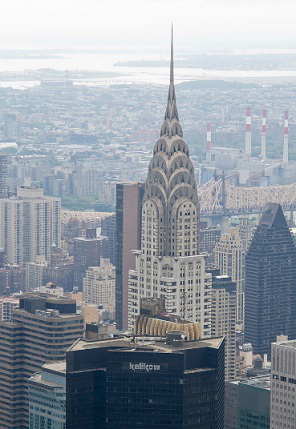 Skyscraper the Chrysler building in new York city | Hobby Keeper Articles