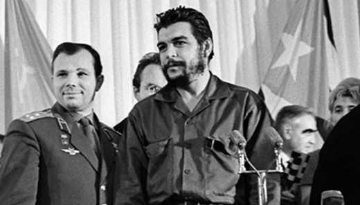 Photo Gagarin and Che | Hobby Keeper Articles