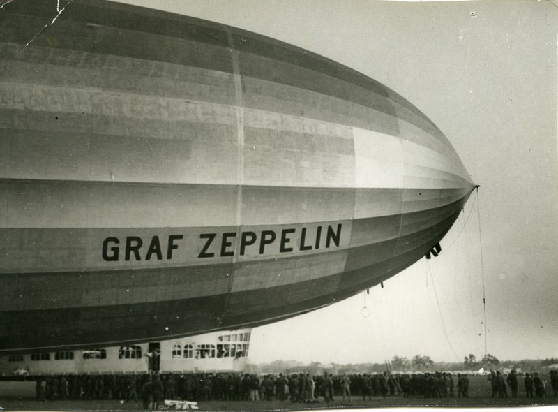 Photos of the airship Graf Zeppelin | Hobby Keeper Articles
