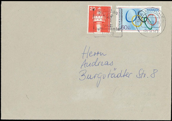 Envelope with a rare stamp | Hobby Keeper Articles