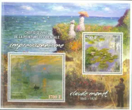 Brand Cote d'ivoire with Monet | Hobby Keeper Articles