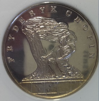 The coin is dedicated to Chopin | Hobby Keeper Articles