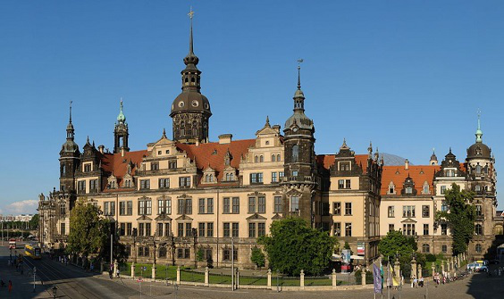 Dresden castle-residence of the General form | Hobby Kepper Articles
