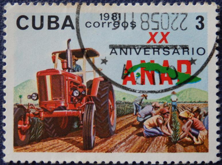 """Mark """"CUBA"""" 1981   Hobby Keeper Articles"""