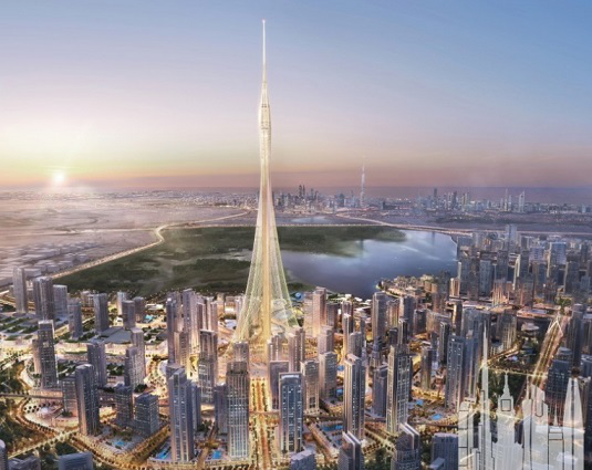 Image of the future tower in the Dubai Creek Harbor area | Hobby Keeper Articles