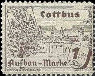Cottbus postage stamp | Hobby Keeper Articles