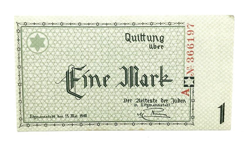 1 mark banknote, 1940, Poland | Hobby Keeper Articles