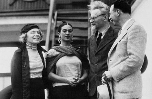 Natalia Sedova (Trotsky's wife), Frida Kahlo, Lev Trotsky | Hobby Keeper Articles