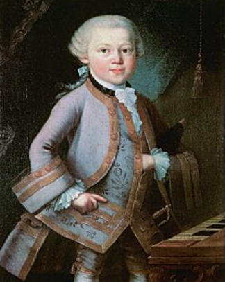 Portrait of a little Mozart | Hobby Keeper Articles