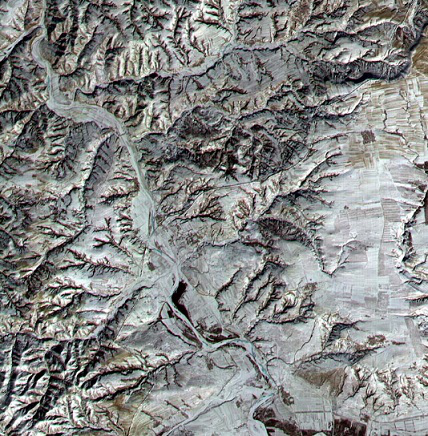Satellite image of China | Hobby Keeper Articles