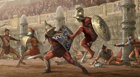 Mass fights on the opening day of the Coliseum | Hobby Keeper Articles