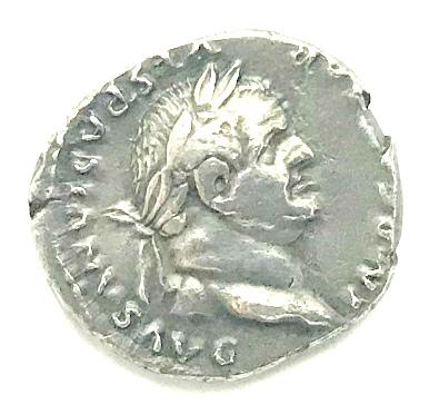 Denarius, Vespasian, Ancient Rome, 69-79 | Hobby Keeper Articles