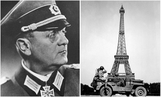 "Dietrich von Holtitz- ""the Savior of Paris"" 
