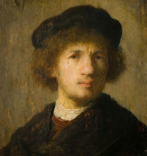 Self-Portrait Of Rembrandt | Hobby Keeper Articles