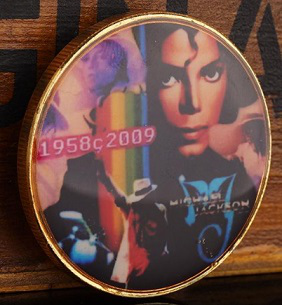 Commemorative coin with a portrait of Michael Jackson | Hobby Keeper Articles