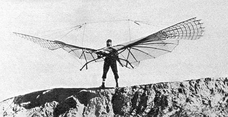 Photos of Lilienthal flying 1 | Hobby Keeper Articles