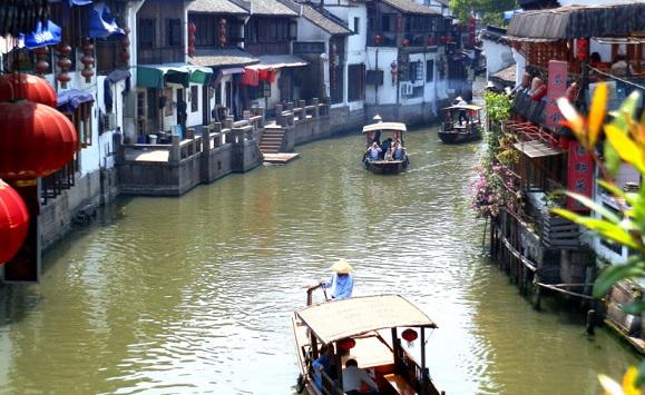 The ancient town of Zhujiajiao in Shanghai   Hobby Keeper Articles