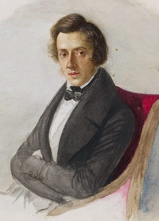 Portrait Of Frederic Chopin | Hobby Keeper Articles