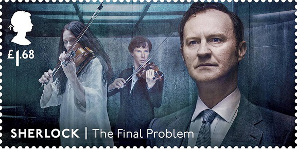 Stamp from the Sherlock Holmes series, 1.68 L, United Kingdom | Hobby Keeper Articles
