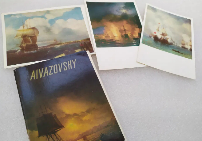 """Set of postcards """"Aurora"""" 