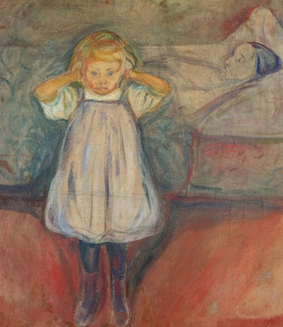 """""""The Dead Mother"""", Edvard Munch, 1900 