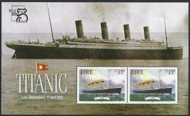 Titanic stamp series, 1999, Ireland | Hobby Keeper Articles