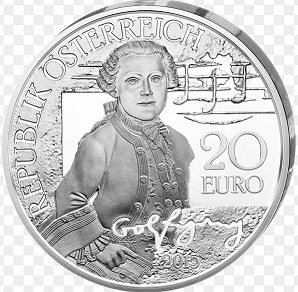 The coin is 20 euros, Mozart, 2015 | Hobby Keeper Articles