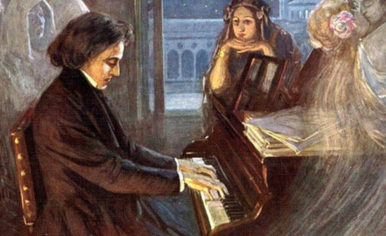 Painting by F. Chopin for piano | Hobby Keeper Articles