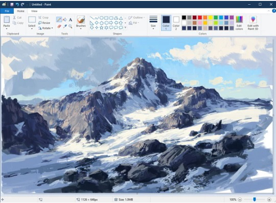 Picture drawn in Paint   Hobby Keeper Articles