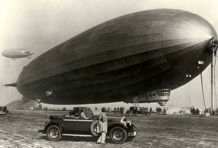 photo of the airship | Hobby Keeper Articles