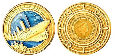 Titanic gold coin, Solomon Islands | Hobby Keeper Articles