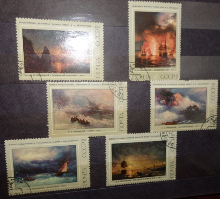 The stamp collection of paintings | Hobby Keeper Articles