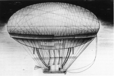 The Image Of The Airship Meunier | Hobby Keeper Articles