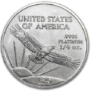 Platinum coin $ 25, United States, 2018 | Hobby Keeper Articles