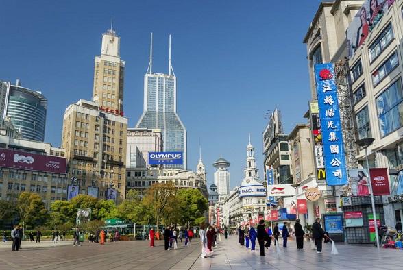 Nanjing road is the main shopping street of modern Shanghai   Hobby Keeper Articles