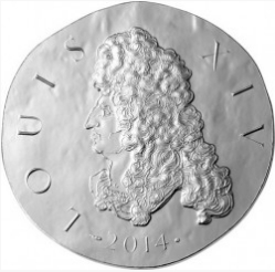 10 Euro Louis 14 coin on reverse, 2014, France  Hobby Keeper Articles