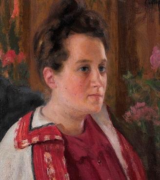 Portrait of Yu. I. Kazarina, 1900 | Hobby Keeper Articles