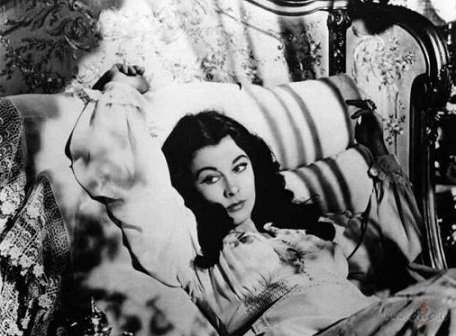 """Shot from """"gone with the wind"""" with Vivien Leigh 