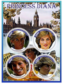 Stamp sheet dedicated to Diana, 2020, cat-d'<url>   Hobby Keeper Articles