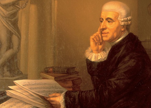 """The picture of the """"Haydn with score"""" 