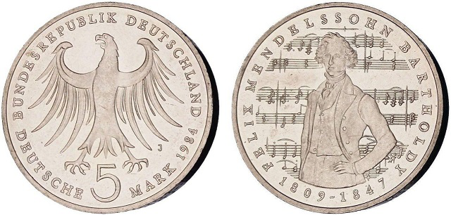 Commemorative coins 5 marks | Hobby Keeper Articles