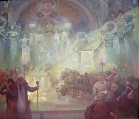 Holy Mount Athos, Alphonse Mucha | Hobby Keeper Articles