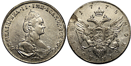 Coin Catherine II | Hobby Keeper Articles