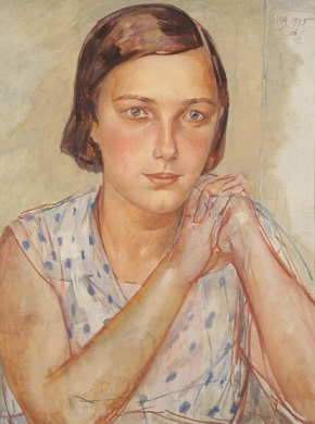 """Petrov-Vodkin """"Portrait of a Daughter"""", 1935 