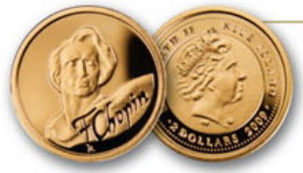 Coin $ 2 Chopin | Hobby Keeper Articles