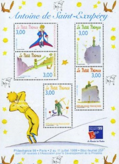 Stamps the Little Prince France | Hobby Keeper Articles