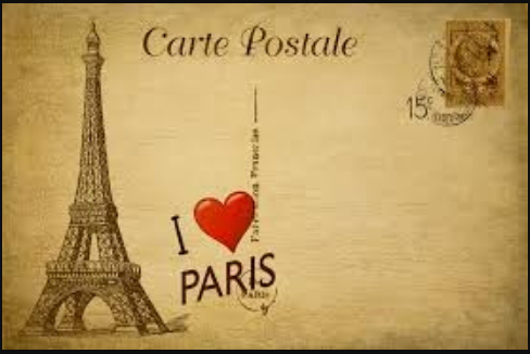 Paris Eiffel tower postcard   Hobby Keeper Articles